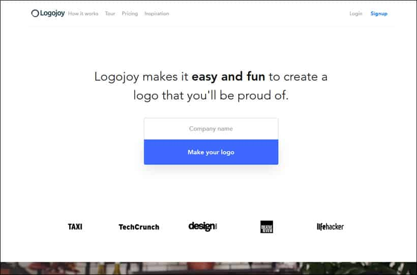 Best place to get custom logo #2 - LogoJoy